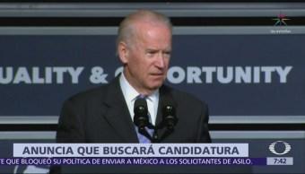 Joe Biden anuncia que buscará candidatura presidencial demócrata en 2020