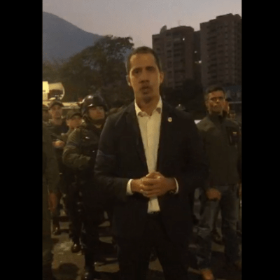 Juan Guaidó convoca a venezolanos a las calles contra Maduro