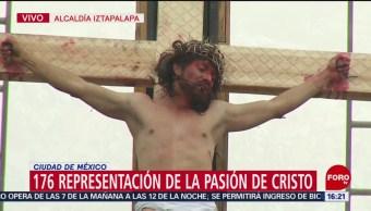 FOTO: La crucifixión de Cristo de Iztapalapa, 19 ABRIL 2019