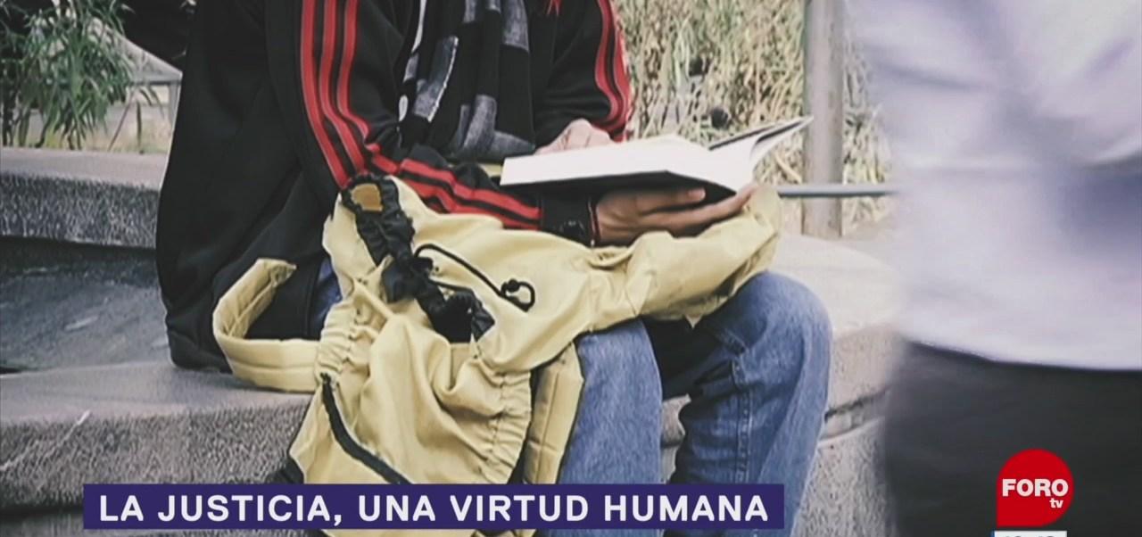FOTO: La justicia, una virtud humana, 18 abril 2019