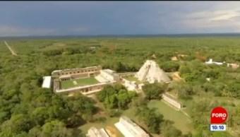 La pirámide del Adivino en Mérida