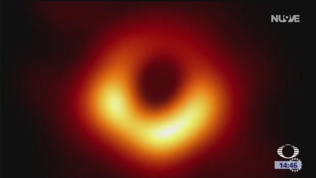 Foto: La primera imagen de un agujero negro