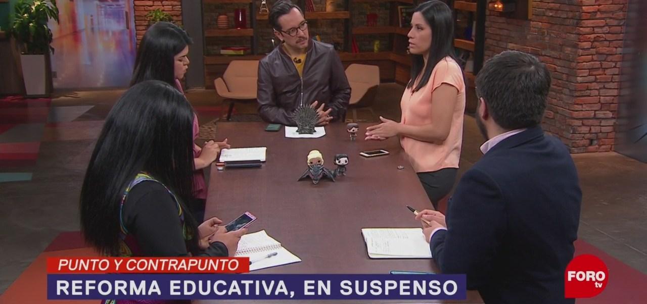 Foto: Reforma Educativa México Obstáculos 10 de Abril 2019