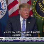 La visita de Trump en la frontera y el caos en las garitas