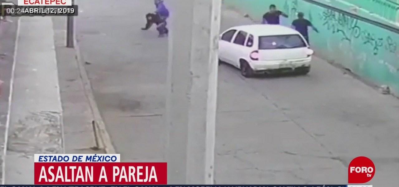 FOTO:Ladrones azotan contra una barda a mujer en Ecatepec, 24 ABRIL 2019