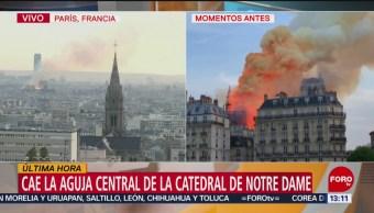 Foto: Lamenta México incendio en Catedral de Notre Dame