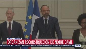 Lanzan convocatoria para rehacer aguja de Notre Dame