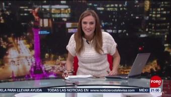 Foto: Las Noticias Danielle Dithurbide Forotv 11 de Abril 2019