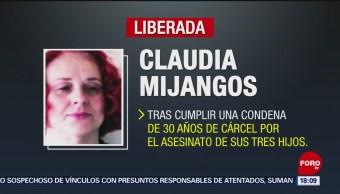 Foto: Liberan a Claudia Mijangos, sentenciada a 30 años por matar a sus tres hijos en 1989