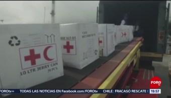 Foto: Ayuda Humanitaria Cruz Roja Venezuela 16 de Abril 2019