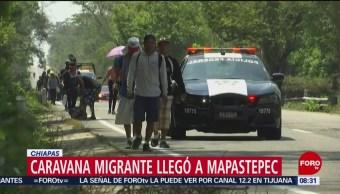 FOTO:Llegan más migrantes a Mapastepec, Chiapas, 21 ABRIL 2019