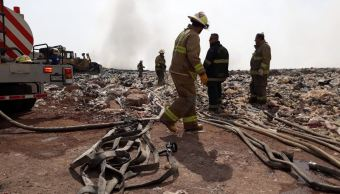 Sofocan incendio en vertedero Los Laureles en Tonalá, Jalisco
