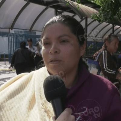 Madre de Nancy Tirzo pide que culpables 'paguen' y anuncia muerte de hermana