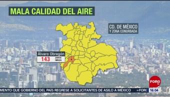 FOTO:Mala calidad del aire en el Valle de México, 14 de abril 2019