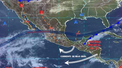 Foto: Imagen de fenómenos meteorológicos significativos de las 06:00 horas, 27 abril 2019