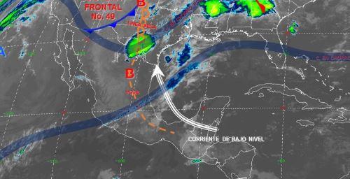 Foto: Imagen de fenómenos meteorológicos significativos de las 06:00 horas, 7 abril 2019