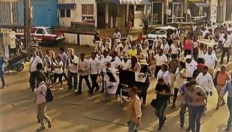 Minatitlán: Marchan y exigen justicia tras la masacre