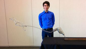 Mexicano lidera equipo que creó un nanosatélite para la NASA