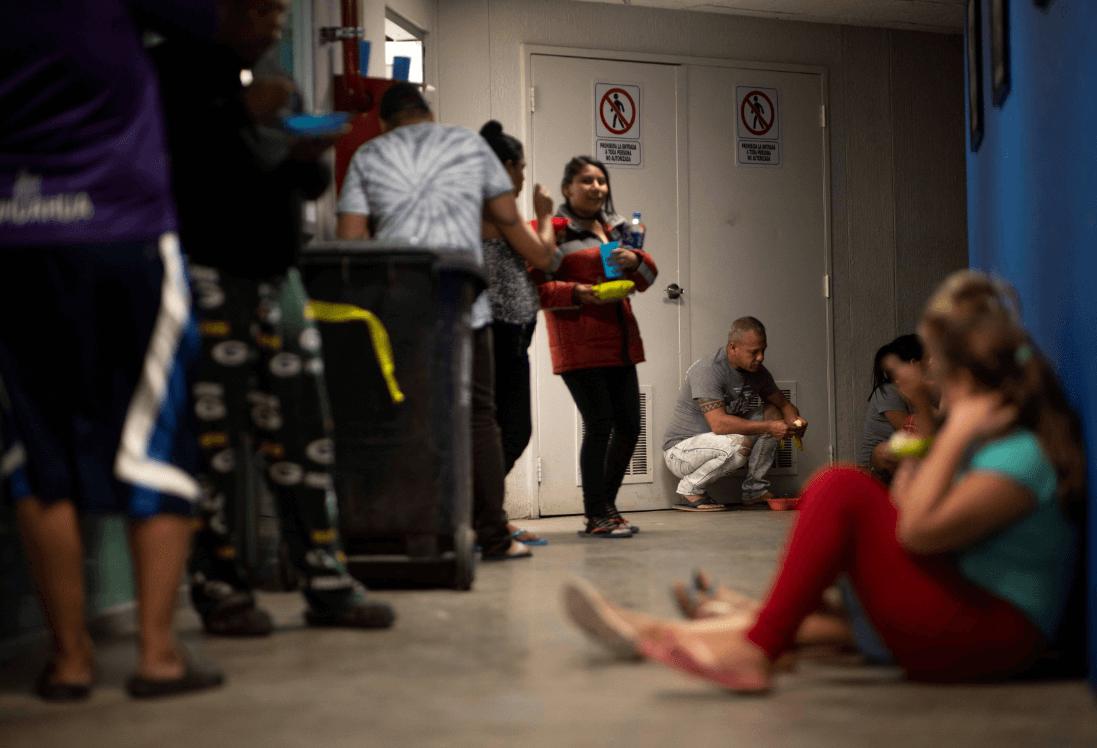 Foto: Migrantes cubanos en albergue de Chihuahua, 23 de marzo de 2019, Chihuahua
