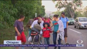 Migrantes cubanos se encuentran varados en Chiapas