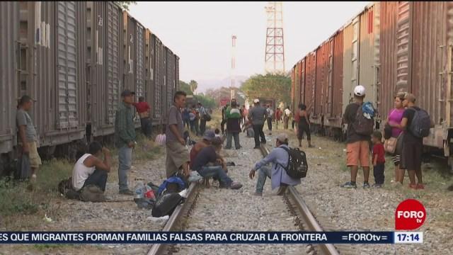 Foto: Migrantes suben a 'La Bestia', se dirigen a Veracruz