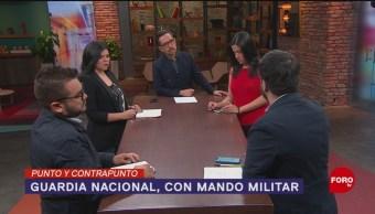 Foto: Militar En Activo Encabezar Guardia Nacional 8 de Abril 2019