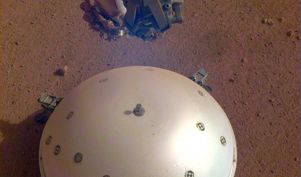 foto Registran el primer sismo en Marte 23 abril 2019