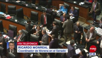 Monreal: Senado nunca había rechazado una terna dos ocasiones