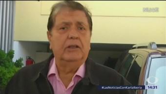 Foto: Muere expresidente de Perú Alan García, tras darse un disparo