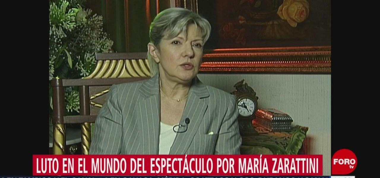 Muere María Zarattini Dan, una de las más grandes escritoras de la televisión mexicana