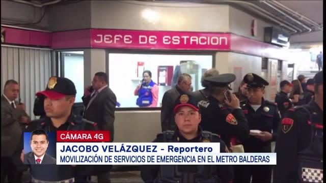 Mujer comienza con labor de parto en estación del Metro