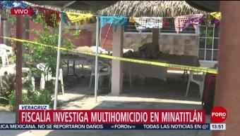 Foto: Multihomicidio en Minatitlán podría ser venganza entre grupos delincuenciales