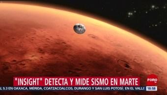 Foto: NASA registra sismo en Marte