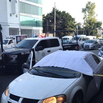 Asesinan a conductor tras conflicto de tránsito en Naucalpan, Edomex