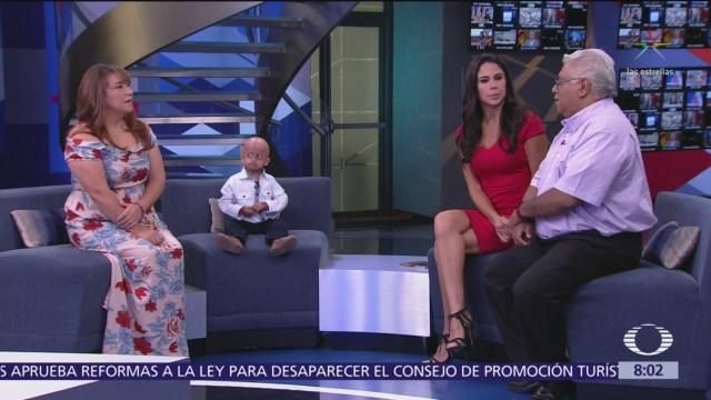 Niño con progeria recibe apoyo de fundación en Estados Unidos