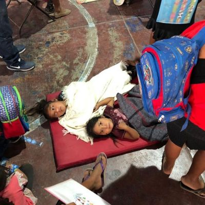 Se intoxican 108 menores por comer pozole durante festejo del Día del Niño en Guerrero