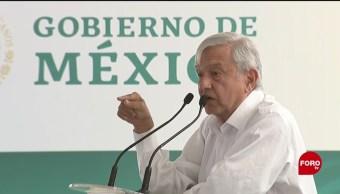 FOTO: No habrá inflación, dice AMLO en Michoacán, 6 de abril 2019
