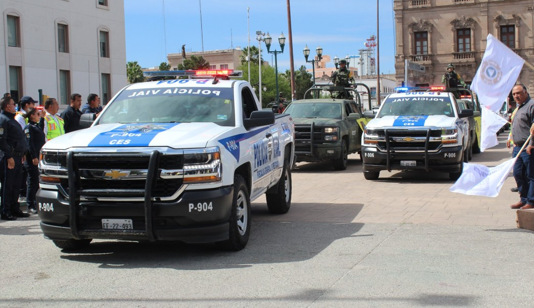 Foto: Operativo de seguridad en Chihuahua, 12 de abril 2019. Facebook-Comisión Estatal de Seguridad Chihuahua