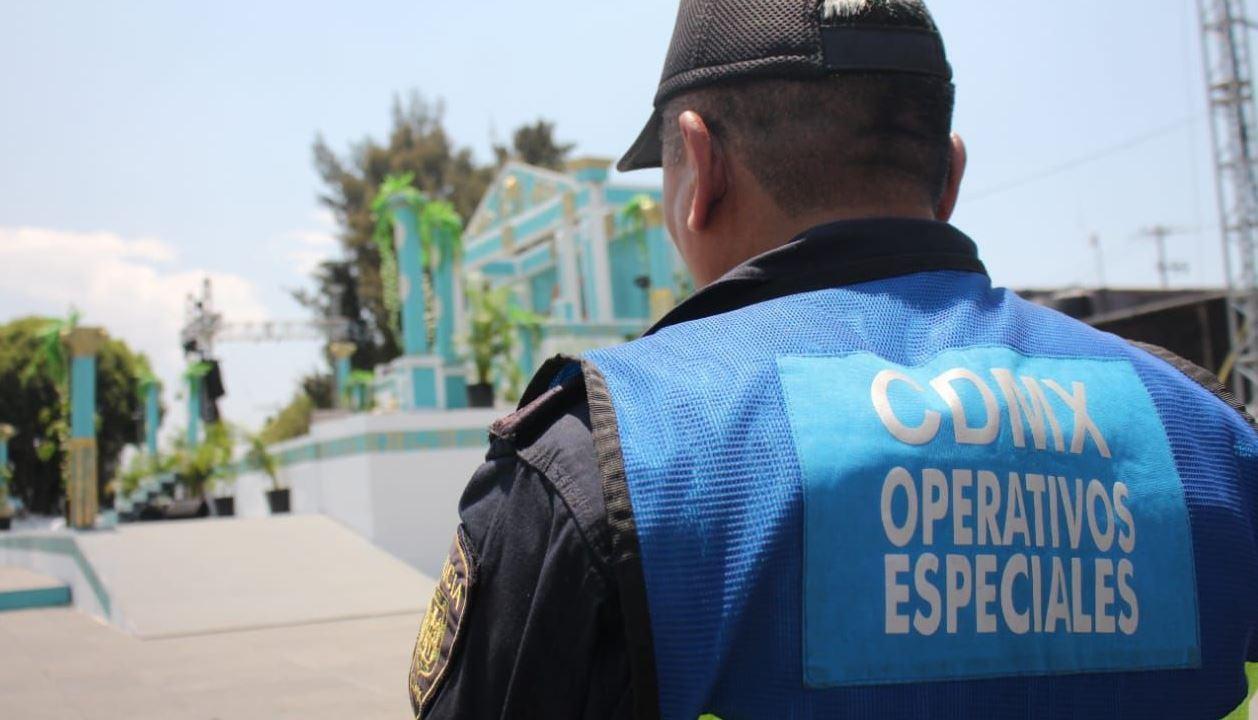 SSC implementa operativo de seguridad en Iztapalapa