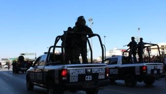 Foto: operativos de seguridad en Chihuahua, 19 de abril 2019. Facebook-Comisión Estatal de Seguridad Chihuahua