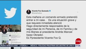 FOTO: Ordena AMLO crear guardia para cuidar a Fox y su familia, 6 de abril 2019