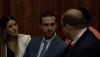 FOTO Pablo Lyle comparece ante corte de Miami por muerte de hombre a quien golpeó durante incidente de tránsito (HOY)