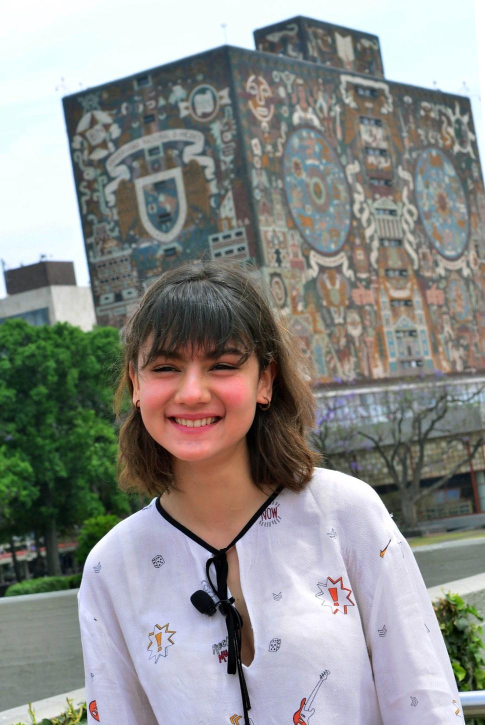 Paloma Allende Vargas quiere especializarse en oncología pediátrica o cirugía cariotorácica (DGCE)