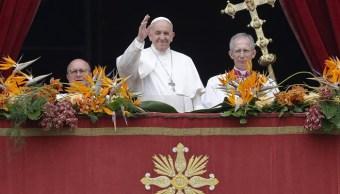 """fOTO: El papa Francisco se despide después de entregar su mensaje """"Urbi et Orbi"""", 21 ABRIL 2109"""