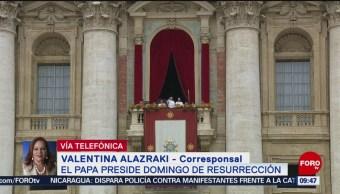 FOTO: Papa pide por Venezuela y Nicaragua en el Domingo de Resurrección, 21 ABRIL 2019