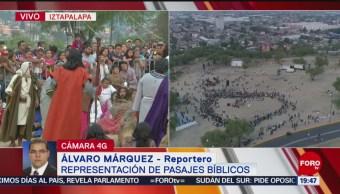 Foto: Pasión De Cristo Iztapalapa Representacion CDMX 16 de Abril 2019