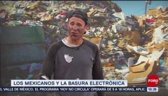 FOTO: Pepenando la basura: Cantidad de basura electrónica, 18 abril 2019