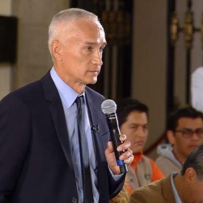 Periodista Jorge Ramos confronta a AMLO sobre cifra de delitos en México