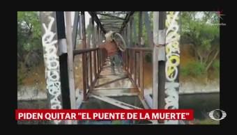 Foto: Puente De La Muerte En Ecatepec 17 de Abril 2019