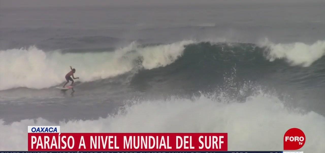 Playa Zicatela, Oaxaca, dentro de las mejores para practicar surfing